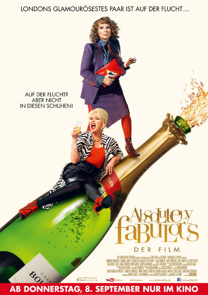 Absolutely Fabulous | Film 2016 -- queer, camp -- POSTER