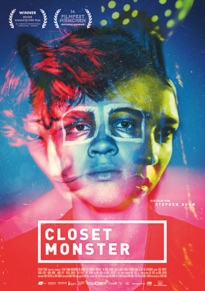 Closet Monster | Film 2015 -- schwul, Homophobie, Coming Out, Homosexualität -- POSTER