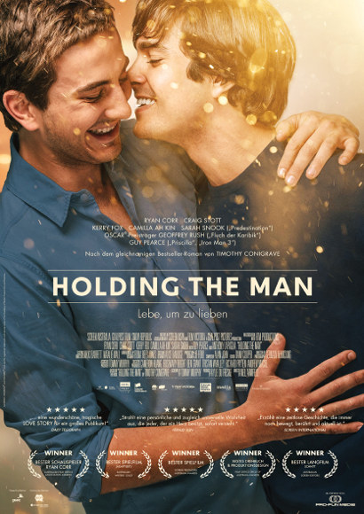Holding the man | Film 2015 -- schwul, Homophobie, Coming Out, Homosexualität, Bisexualität -- POSTER