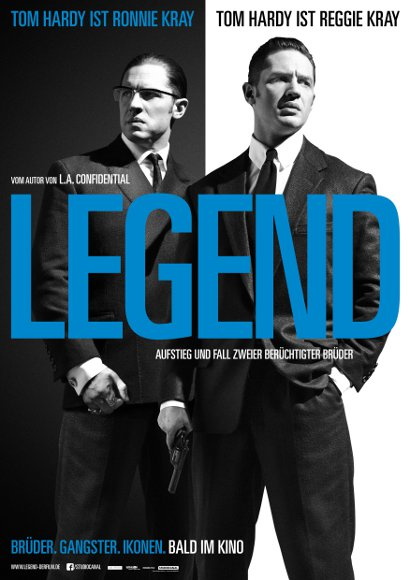 Legend | Film 2015 -- gay themed movie, homophobia, homosexuality, queer cinema, tom hardy