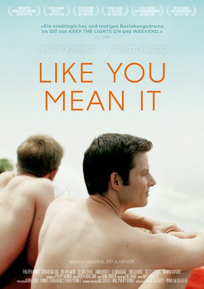Like you mean it | Movie 2015 -- gay, bisexuality, homosexuality