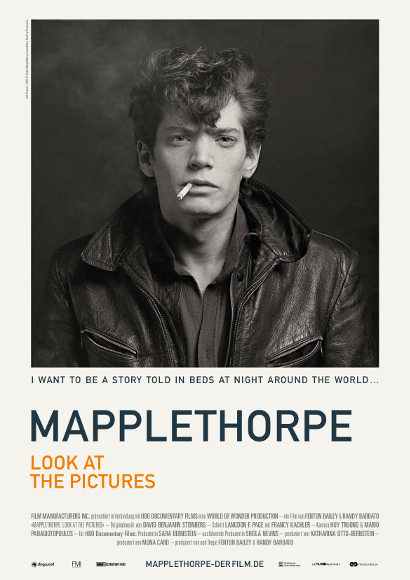 Mapplethorpe: Look at the Pictures | Film 2016 -- schwul, Bisexualität, Homosexualität -- POSTER