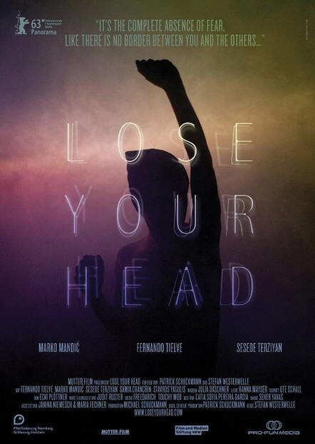 Lose your head -- Poster