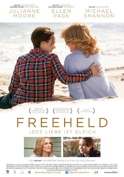 Freeheld - Jede Liebe ist gleich | Lesben-Film 2015 -- lesbisch, Homophobie, Gay Pride, Coming Out, Ehe für alle, Homoehe, Homosexualität im Film -- Queer Cinema
