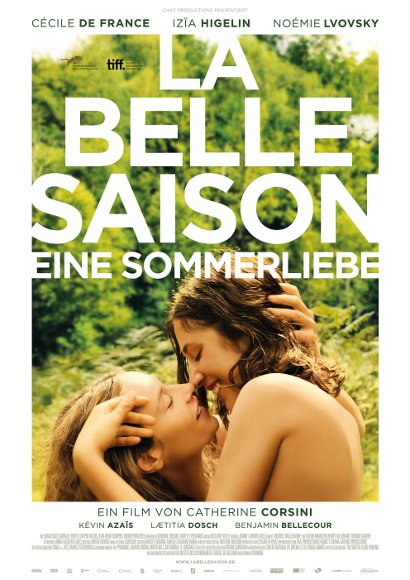 La belle saison - Eine Sommerliebe | Lesben-Film 2015 -- lesbisch, Bisexualität, Coming Out, Homophobie, Homosexualität im Film -- Queer Cinema