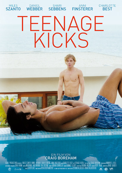 Teenage Kicks | Gay-Film 2016 -- schwul, Coming Out, Homophobie, Bisexualität, Homosexualität im Film, Queer Cinema