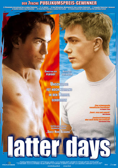 Latter Days | Gayfilm 2012 -- schwul, Homophobie, Coming Out, Religion, Queer Cinema, Homosexualität im Film, Joseph Gordon-Levitt