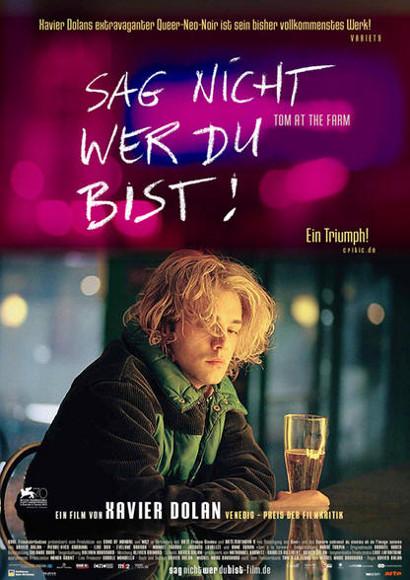 Sag nicht wer du bist | Gay-Film 2013 -- schwul, Homophobie, Coming Out, Bisexualität, Homosexualität, Xavier Dolan, bester Gayfilm 2014
