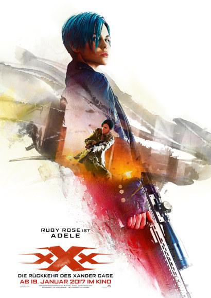 xXx: Die Rückkehr des Xander Cage | Film 2017 -- lesbisch, Bisexualität, Homosexualität im Film