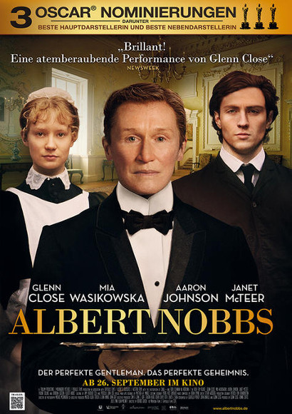 Albert Nobbs | Transgender-Film 2011 -- trans*, lesbisch, Bisexualität, Transphobie, Homophobie, Homosexualität, Glenn Close