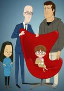 Allen Gregory | Zeichentrick-Serie 2011 -- schwule TV-Serie, Regenbogenfamilie, Homosexualität im Fernsehen, Stream, deutsch, alle Folgen
