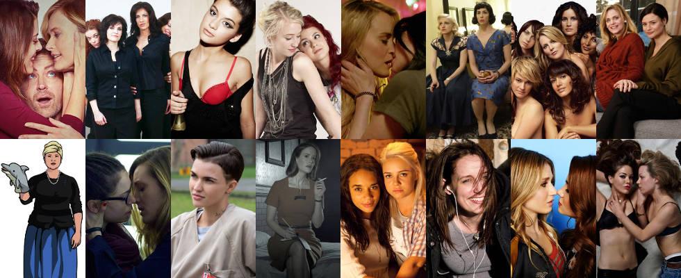 Neue TV-Serien mit lesbischer und bisexueller Thematik als HD-Stream und Download  -- als Stream, Download und im Fernsehen 2017