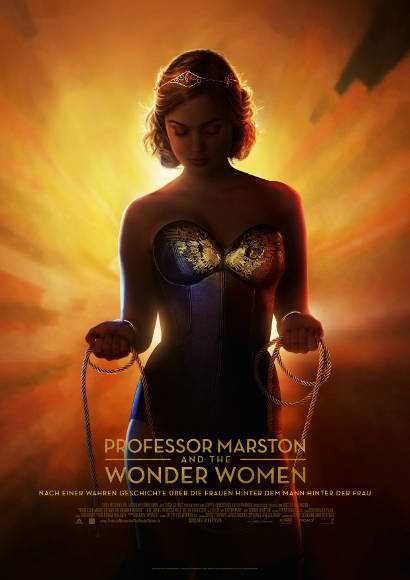 Professor Marston & The Wonder Women | Lesben-Film 2017 -- lesbisch, Bisexualität im Film, Queer Cinema, Stream, deutsch, ganzer Film