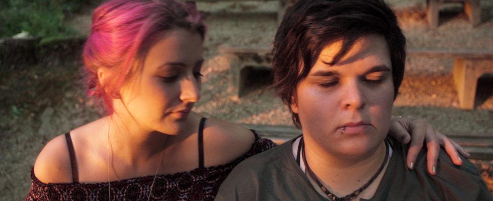 Lesbische Liebes-Sex-Filme Filterpornos