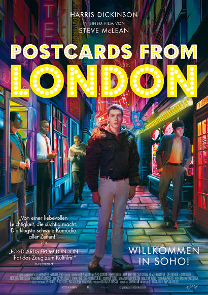 Postcards from London | Film 2018 -- Stream, ganzer Film, schwul