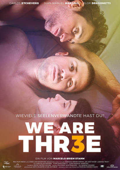 We are thr3e | Film 2018 -- Stream, ganzer Film, Queer Cinema, schwul, bi