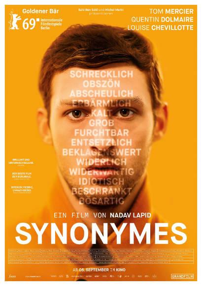 Synonymes | Film 2019 -- Stream, ganzer Film, german, Queer Cinema, schwul