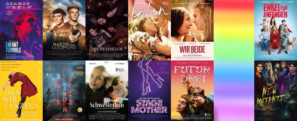 Queer Cinema Kinocharts 2020