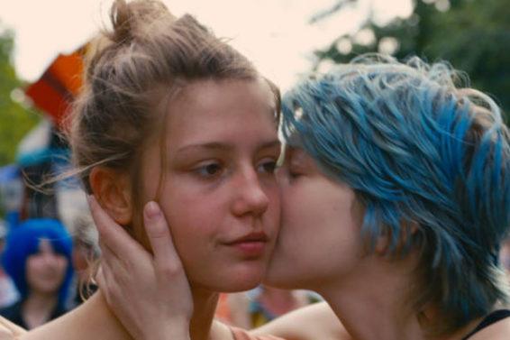 Blau ist eine warme Farbe | Lesben-Film 2013 — online sehen