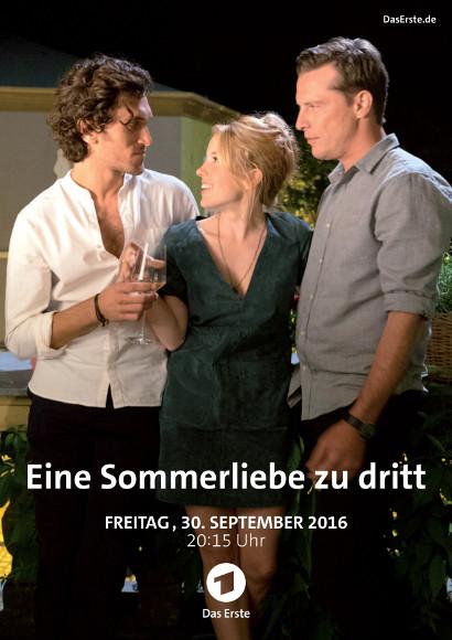 Eine Sommerliebe zu dritt   TV-Film 2016 -- schwul, Bisexualität, Dreier, Ménage à trois, Homosexualität im Fernsehen, Queer Cinema