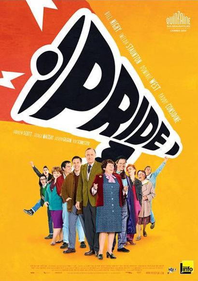 Pride | Film 2014 -- schwuler TV-Tipp, lesbisch, Gay Pride, Homosexualität im Fernsehen, Queer Cinema, Stream, deutsch, ganzer Film, Sendetermine