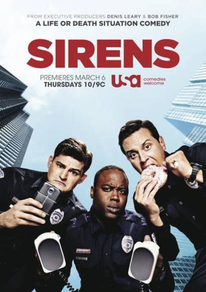 Sirens   Serie 2014-2015 -- schwul, Asexualität, Homosexualität im Fernsehen