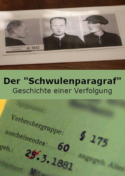 """Der """"Schwulenparagraf"""" – Geschichte einer Verfolgung   Dokumentation 2019 -- Stream, ganzer Film, schwul, Queer Cinema"""