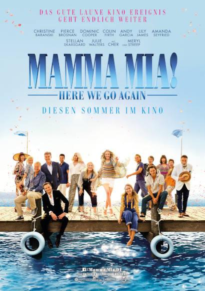 Mamma Mia! Here We Go Again   Film 2018 -- Stream, ganzer Film, Queer Cinema, schwul