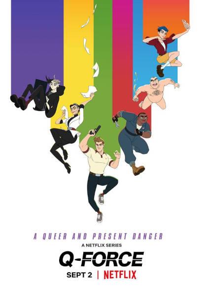 Q-Force | LGBT-Serie 2021 -- Stream, Download, alle Folgen, Homosexualität bei Netflix, schwul, lesbisch