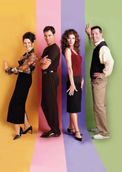 Will & Grace   LGBT-Serie 1998 - 2020 -- schwul, transgender, Bisexualität, Homosexualität im Fernsehen, Stream, deutsch, alle Folgen, online sehen