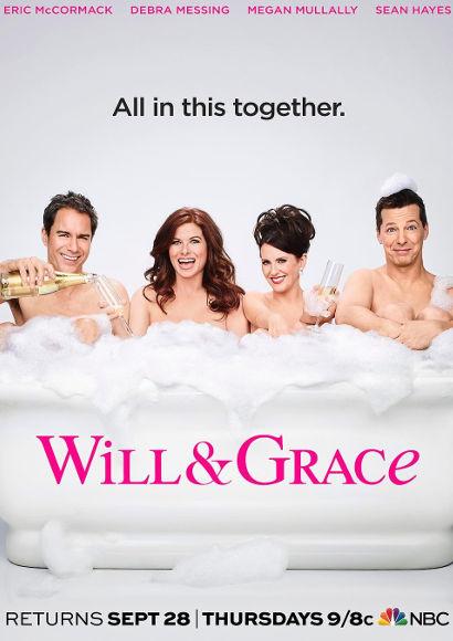 Will & Grace   LGBT-Serie 2017-2020 -- schwul, transgender, Bisexualität, Homosexualität im Fernsehen, Stream, deutsch, alle Folgen, online sehen